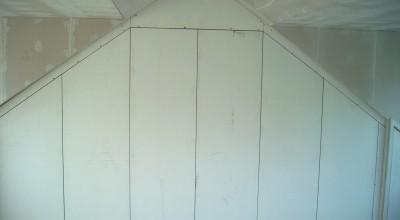 Op maat gemaakte kast op de zolder, Tamboerijnhof in Zaandijk