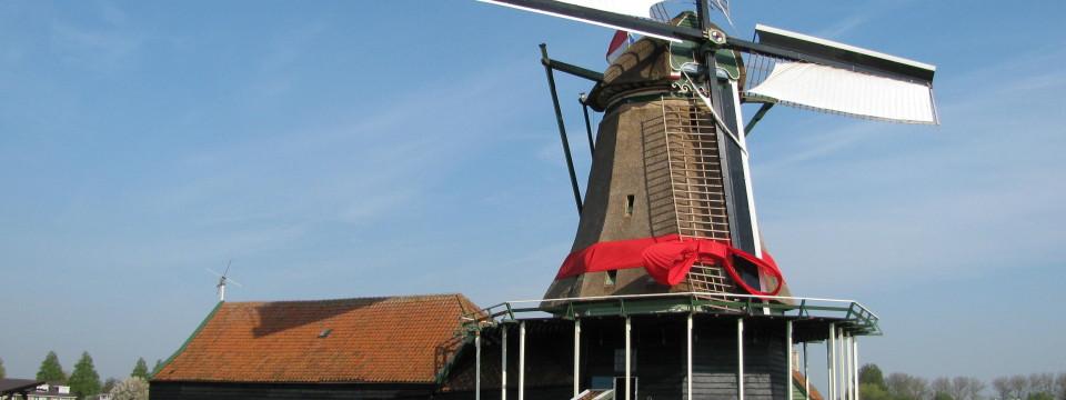 Reconstructie van de molenwieken van Het Prinsenhof in Westzaan