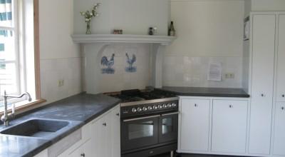 Keuken in voormalige boerderij, Broek in Waterland