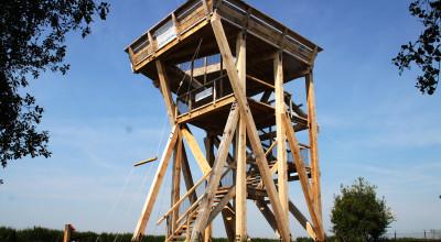 Uitkijktoren op de Zaanse Schans / Schanstoren