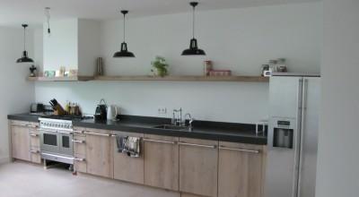 Eiken houten keuken, Lagedijk, Zaandijk