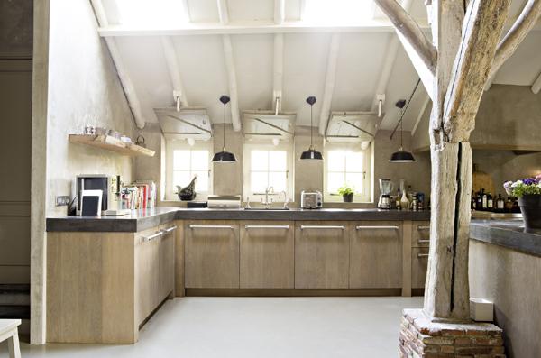 Keukens Op Maat Waregem : Koningsstijl » Eiken houten keuken, Lagedijk, Zaandijk